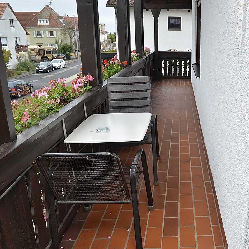 Jedes Gästezimmer hat Zugang zum Balkon, Gästehaus Ehmer, Neustadt / Weinstr.